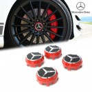 Genuine OEM 75mm AMG Edition 1 Wheel Center Hub Cap For Mercedes Benz