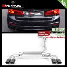 REMUS Cat-back Rear Exhaust W/ Tip (S01/S02/S03 ) For BMW 5 Series G30 520i 530i - 2017-2018
