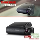 THINKWARE Q800 Pro Front & Rear Dash Camera