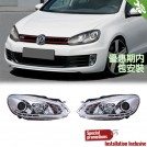 Projector Front Head Light Lamp w/ Motor w/ DRL For Golf 6 MK6 2008-2012 (RHD)