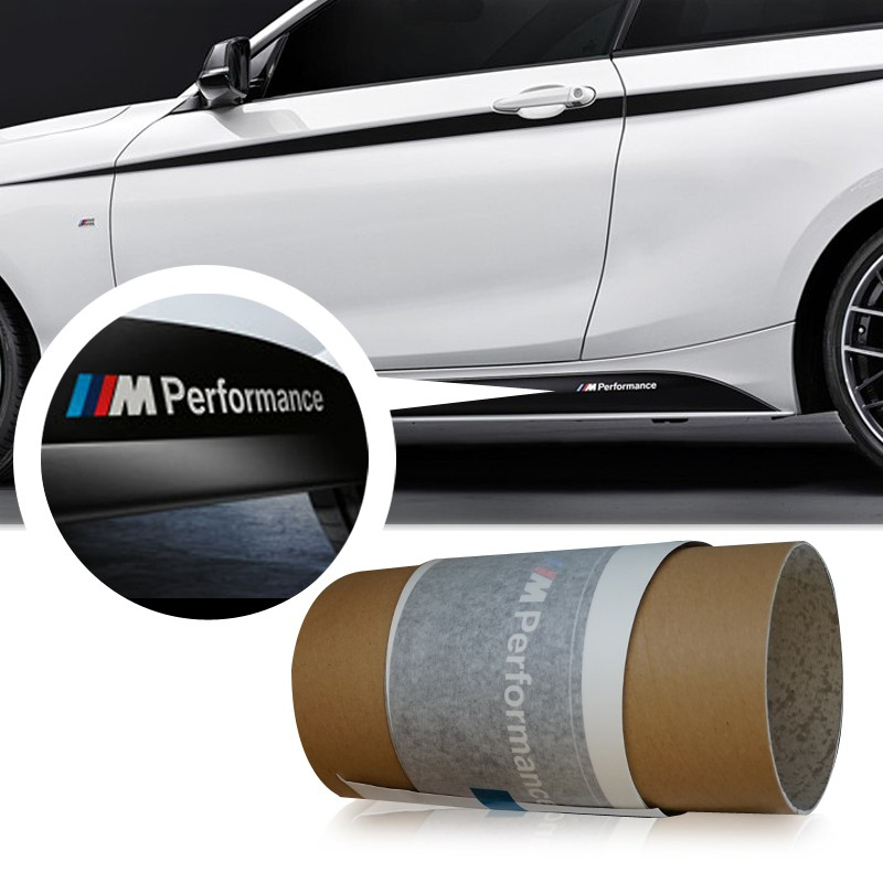 Genuine OEM M Performance Side Skirt Sticker For BMW F32
