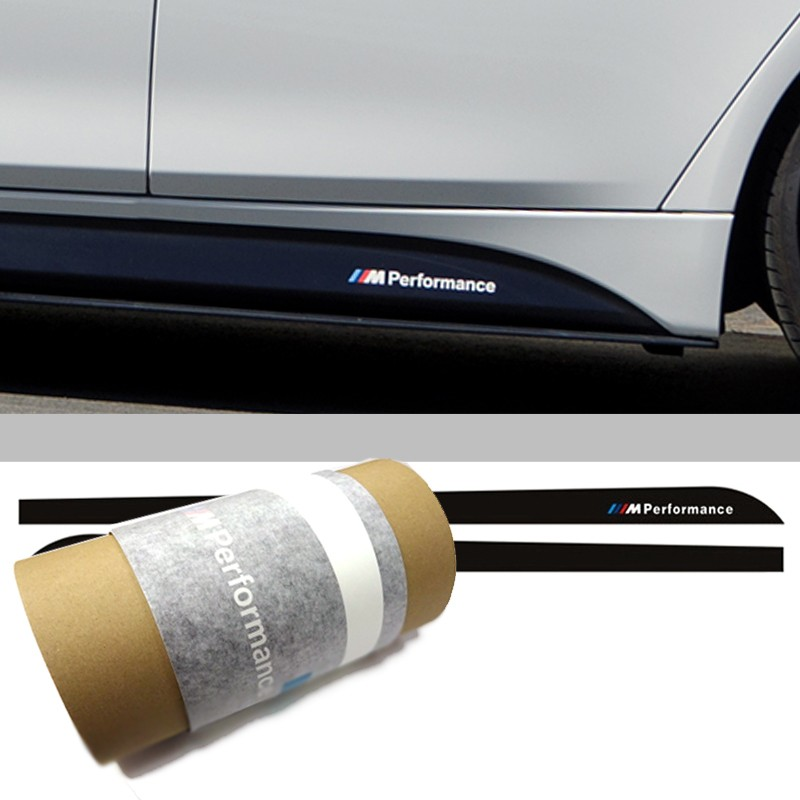 Genuine OEM M Performance Side Skirt Sticker For BMW F30