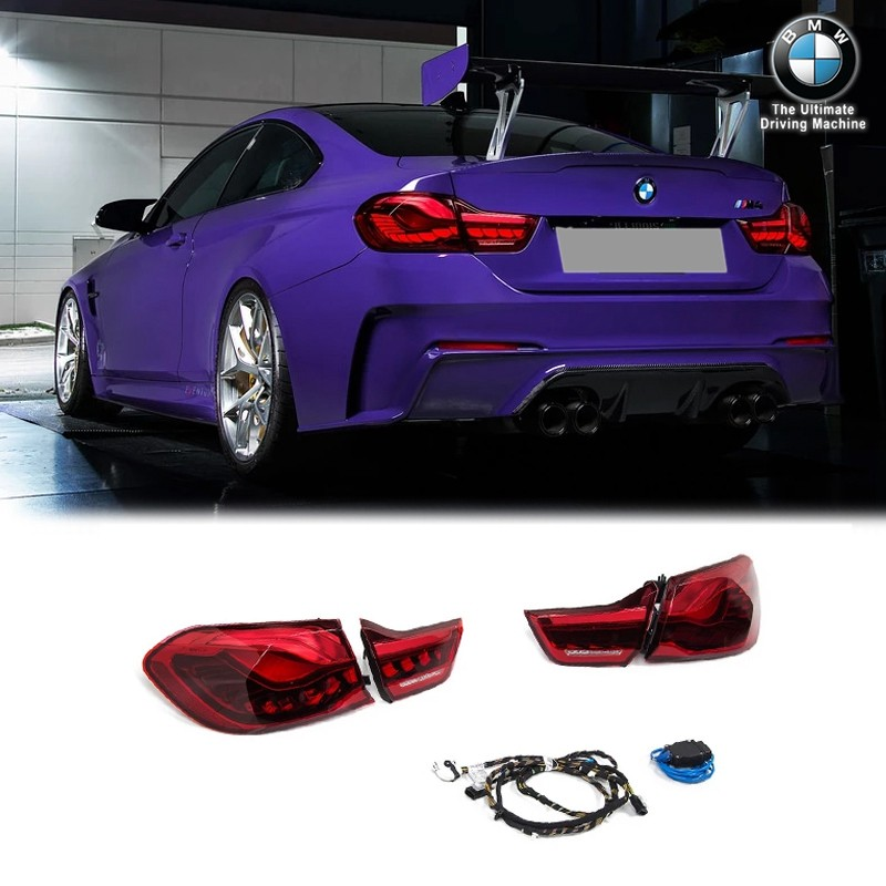 Genuine BMW GTS OLED European Tail Light Set For F82 M4